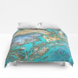 Woody Water Comforters