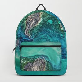 Ice Scours the North Caspian Sea Backpack