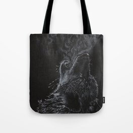 Wolf - The Uneasy Chill Tote Bag