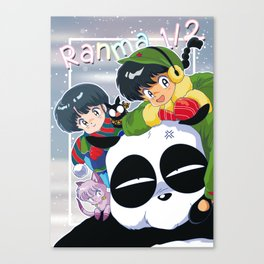 Ranma 1/2 Winter Edition Canvas Print