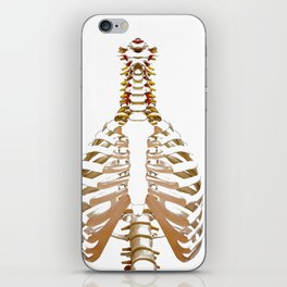 Rib Cage (Color) iPhone Skin