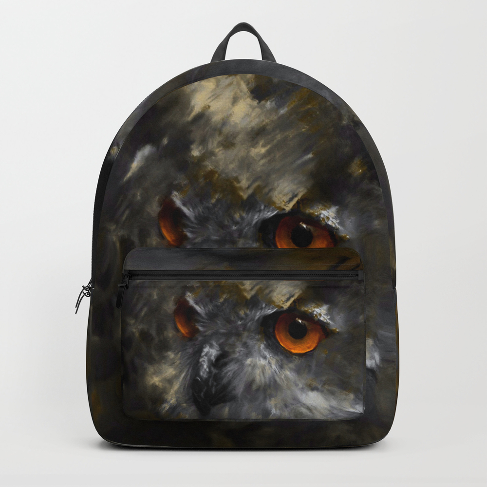 Ruler Of The Night Backpack by Bunnyclarke BKP9097859