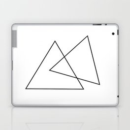 Double Triangles Laptop & iPad Skin