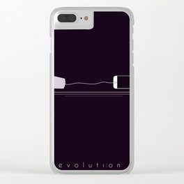 PHONE EVOLUTION Clear iPhone Case