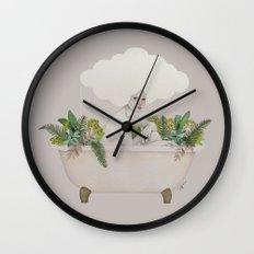 Hydra Wall Clock