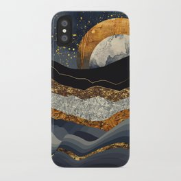 Metallic Mountains iPhone Case