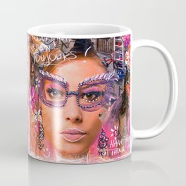 Think pink, have fun... Coffee Mug