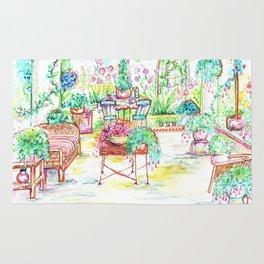 Garden party Rug