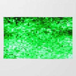 Grass Green Pixels Rug