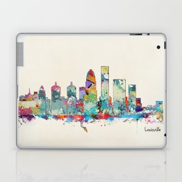 Louisville Kentucky skyline Laptop & iPad Skin