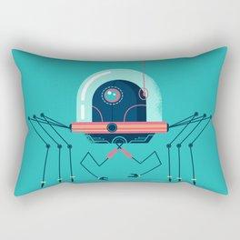 :::Mini Robot-Arachno::: Rectangular Pillow