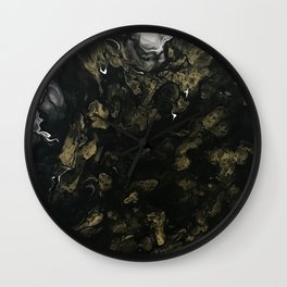 Black Smoke Wall Clock