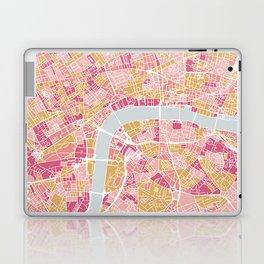 Colorful London map Laptop & iPad Skin