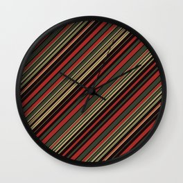Just Stripes 3 Wall Clock