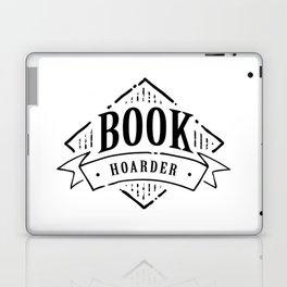 Book Hoarder Black Laptop & iPad Skin