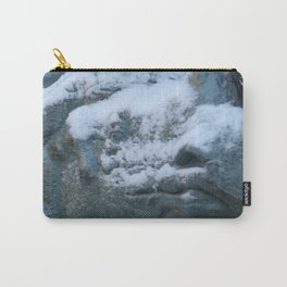 Snow On Rino Carry-All Pouch