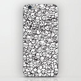 Skulls by Caleb iPhone Skin
