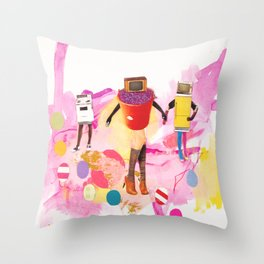 Housebound Throw Pillow