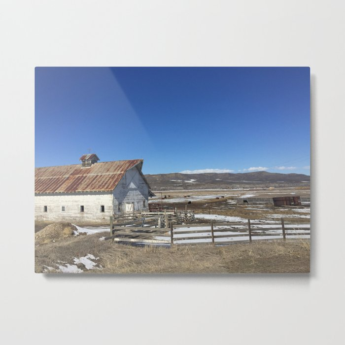 Denver Barn Metal Print