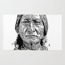 Sitting Bull Portrait Rug