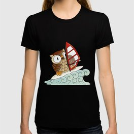 On the crest of a wave T-shirt