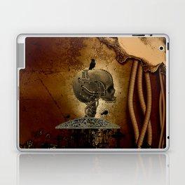 Mechanical skull Laptop & iPad Skin