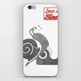 Love is bind iPhone Skin