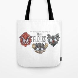 Monster Hunter World Elder Dragons Tote Bag