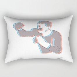 Boxing Ali (coulour) Rectangular Pillow