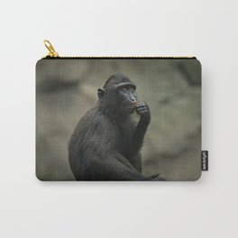Celebes Crested Macaque Youngster Carry-All Pouch