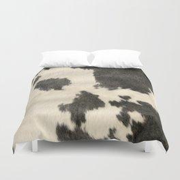 Black & White Cow Hide Duvet Cover