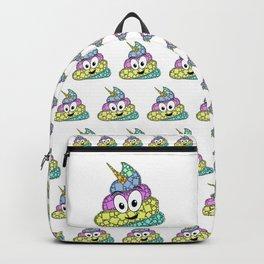POO-nicorn - Magical Poop Unicorn - 57 Montgomery ave Backpack