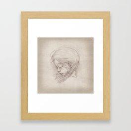 Doll II Framed Art Print