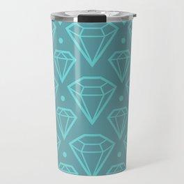 Diamond Pattern Travel Mug