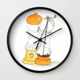 Salt and Pepper Wall Clock