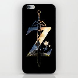 Z [Breath of the Wild] iPhone Skin