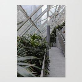 Mall Garden Canvas Print
