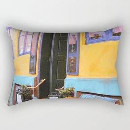 Danish Bar in Autumn Rectangular Pillow