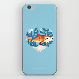 CHOMP the Tiger Shark iPhone Skin