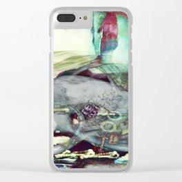 488 - DJ Operator Clear iPhone Case