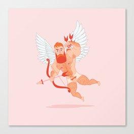 Naughty Cupid Canvas Print