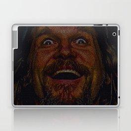 The Dude (Lebowski Screenplay print) Laptop & iPad Skin