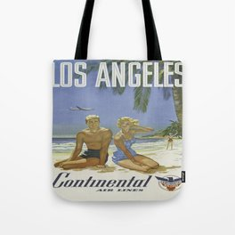 Vintage poster - Los Angeles Tote Bag