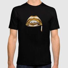 Golden Lips T-shirt
