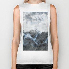 Stormy Mountains Biker Tank