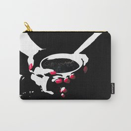 Black as Midnight on a Moonless Night [No Caption] Carry-All Pouch