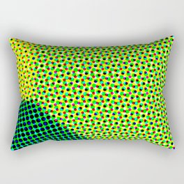 N Dot Rectangular Pillow