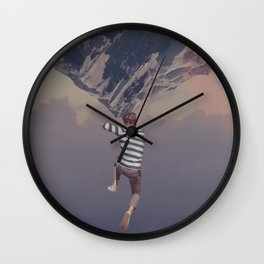 The Cliffjumper Wall Clock