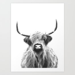Black White Art Prints | Society6