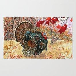 Woodland Turkey Rug